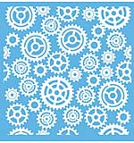 SO: Gears & Cogs Mixed Media stencil