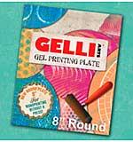 Gelli Arts Gel Printing Plate - 8 inch Round