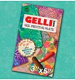 Gelli Arts Gel Printing Plate - 3 x 5 inch