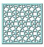 Sweet Dixie Stencil - Circular Mosaic