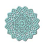 Sweet Dixie Stencil -  Lattice Swirl
