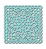 Sweet Dixie Stencil - Swirl and Loops