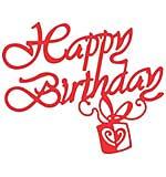 Cheery Lynn Designs Dies - Happy Birthday
