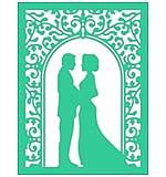 Cheery Lynn Designs Dies - Wedding Vows Frame