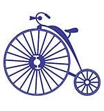 SO: Cheery Lynn Designs Dies - Vintage Bicycle (Steampunk Series)