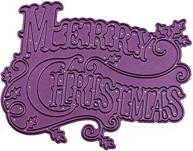 Cheery Lynn Designs Die - Merry Christmas