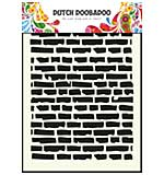 Dutch Doobaboo Mask Art stencil - Bricks (A5)