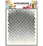 Dutch Doobaboo Mask Art stencil - Faded Dots (A5)