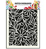 Dutch Doobadoo Mask Art stencil - Flower Swirl (A5)
