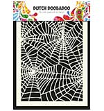 Dutch Doobadoo Mask Art stencil - Spiderweb (A5)