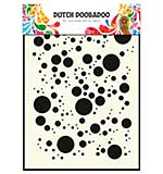 SO: Dutch Doobadoo Mask Art stencil - Bubbles (A5)