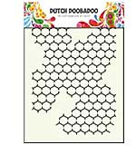 Dutch Doobadoo Mask Art stencil - Chicken Wire A5