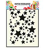 Dutch Doobadoo Mask Art Stencil - Starry Sky (A5)
