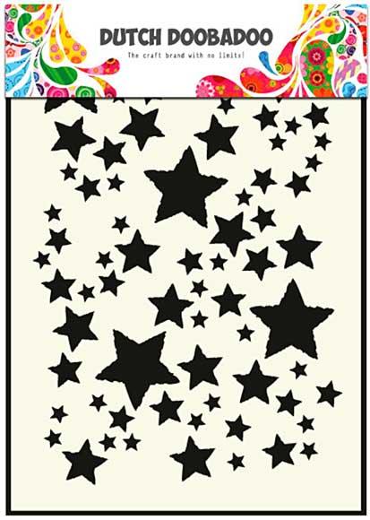 Dutch Doobadoo Mask Art Stencil - Starry Sky (A5)