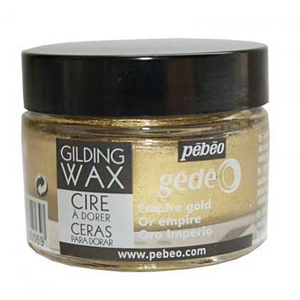 Pebeo Gilding Wax - Empire Gold (30ml Jar)