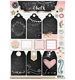 Studio Light - Creative with Chalk - Die Cut Tags
