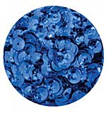 Pinflair Cup Sequins 8mm - Royal Blue (8g)