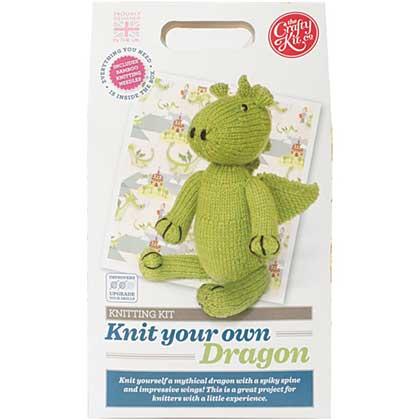 SO: PRE: The Crafty Kit Co. Knitting Kit - Dragon