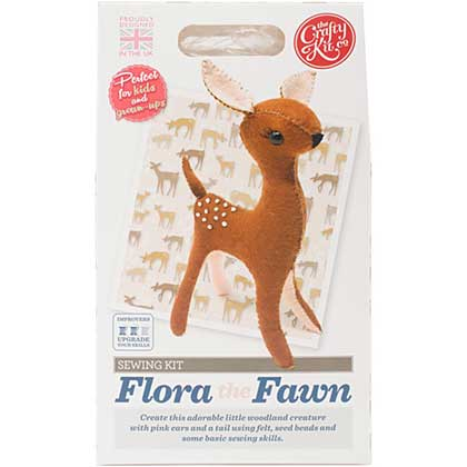 The Crafty Kit Co. Sewing Kit - Flora The Fawn