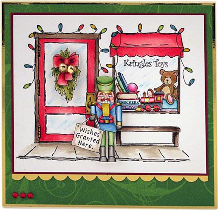 Toy Shop by Sara Rosamond