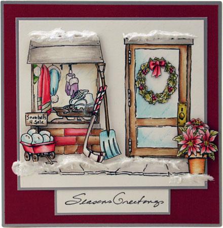 Season's Greetings by Sara Rosamond